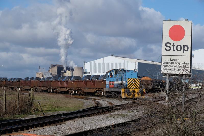 TATA Steel 902 at Margam