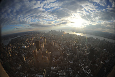 MANHATTAN    /   View from  Empire  State  Building