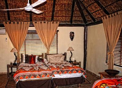 My bedroom. African style  Geniune