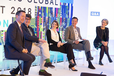 Lord Chris Holmes of Richmond MBE and panel at Mercer's Synthesis Global Summit 2018
