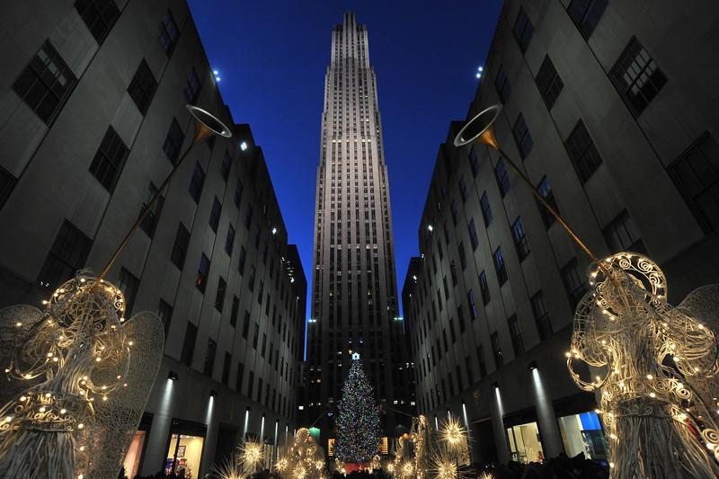 Rockefeller Center's Christmas Tree