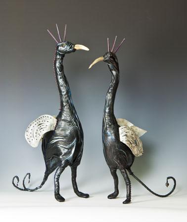 Avian couple - Beadle and Esatair