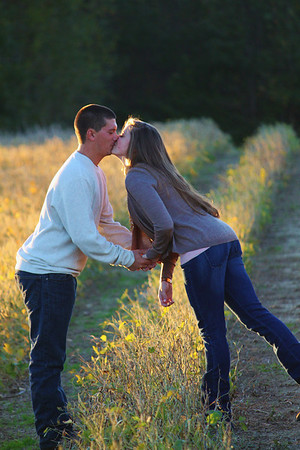 At The Farm...a perfect engagement backdrop