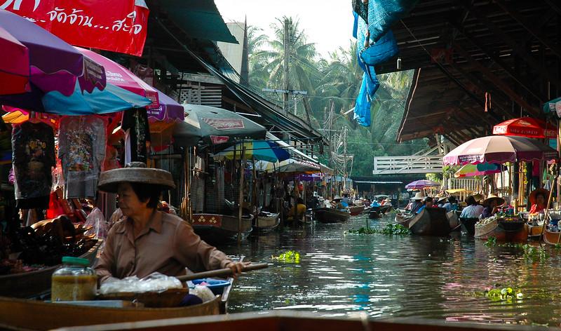 Floating Market<br /> Damnoen Saduak, Ratchaburi