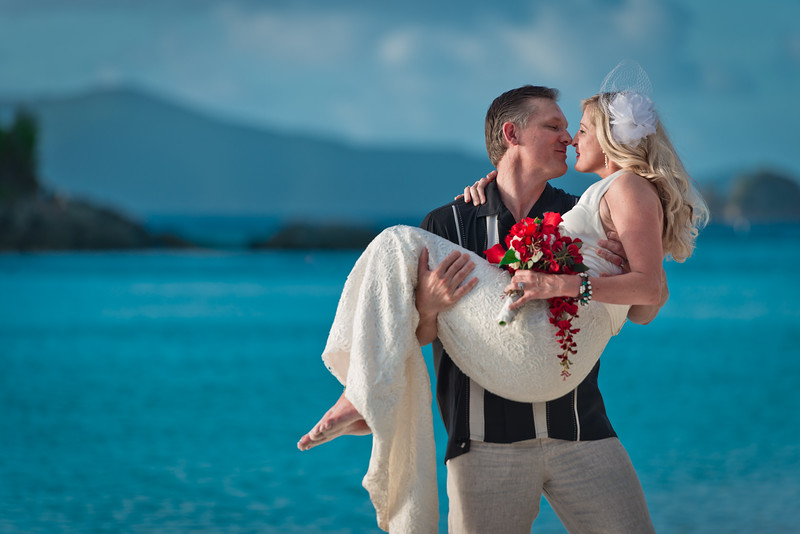 Wedding, Destination Wedding, Trunk Bay