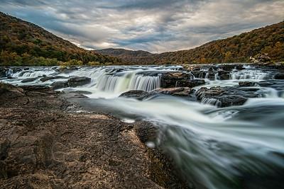 Sandstone Falls - Autumn