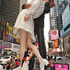 Times Square  KISS - IN   /  Pucker Up for Peace