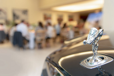 Chiva-Som resort @ the Rolls Royce showroom event for Bacall PR