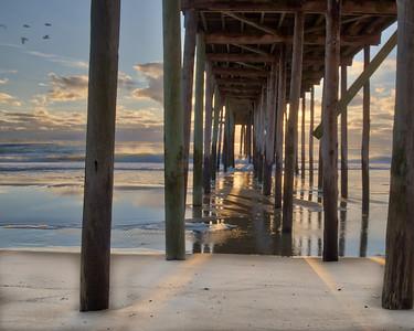 Ocean Pier Sunrise 4237