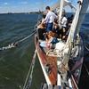 Sailing  the  Hudson River