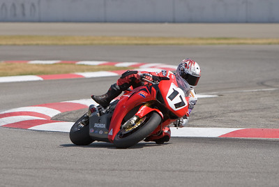 Miguel Duhamel in the chicane at California Speedway