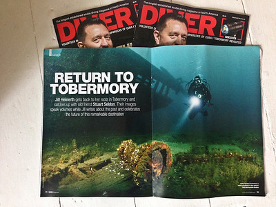 DIVER Magazine 8-Page Feature