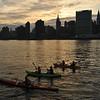 Kayaking East River