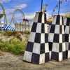 Checkered Coasters 2524