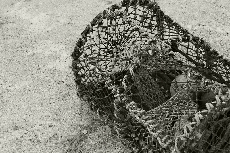 Arran island fishing trap - Ireland