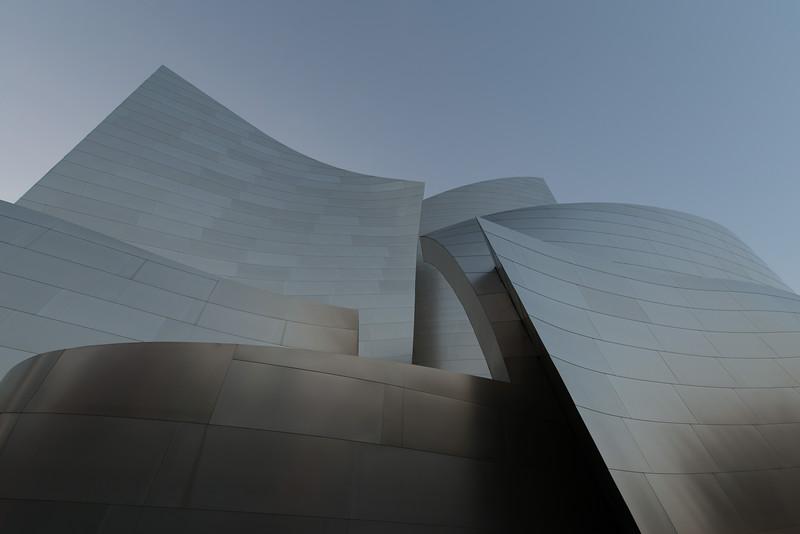 The Walt Disney Concert Hall in Long Beach