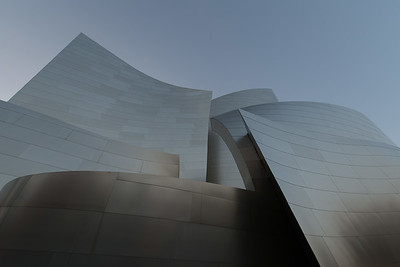 The Walt Disney Concert Hall in Long Beach