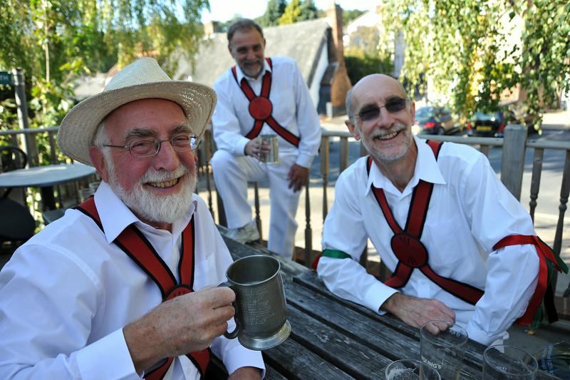 Redbornstoke Morris Men. Ampthill.