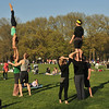 AcroYoga  in  Central Park