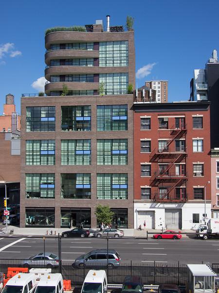 High Line promenade