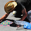 Sand  Painting  in  Central Park