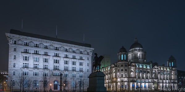 Liverpool, 2 of the 3 Graces