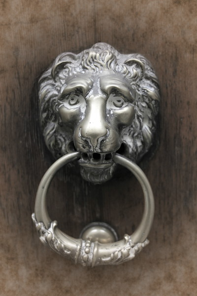 Lion Knocker
