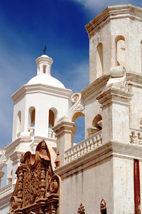 San Xavier del Bac Cathedral near Tucson, Arizona