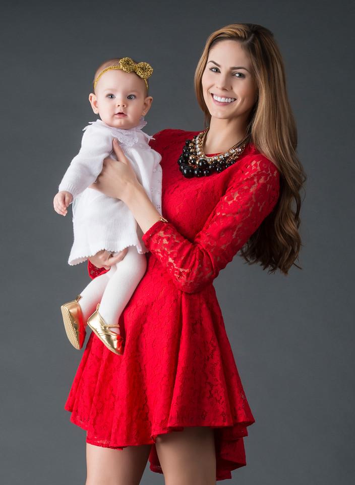Model: Destiny Moniz and daughter; MUA: Ximena Ocha