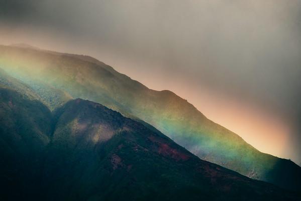 Sleeping Rainbow, Big Island Hawaii 2012