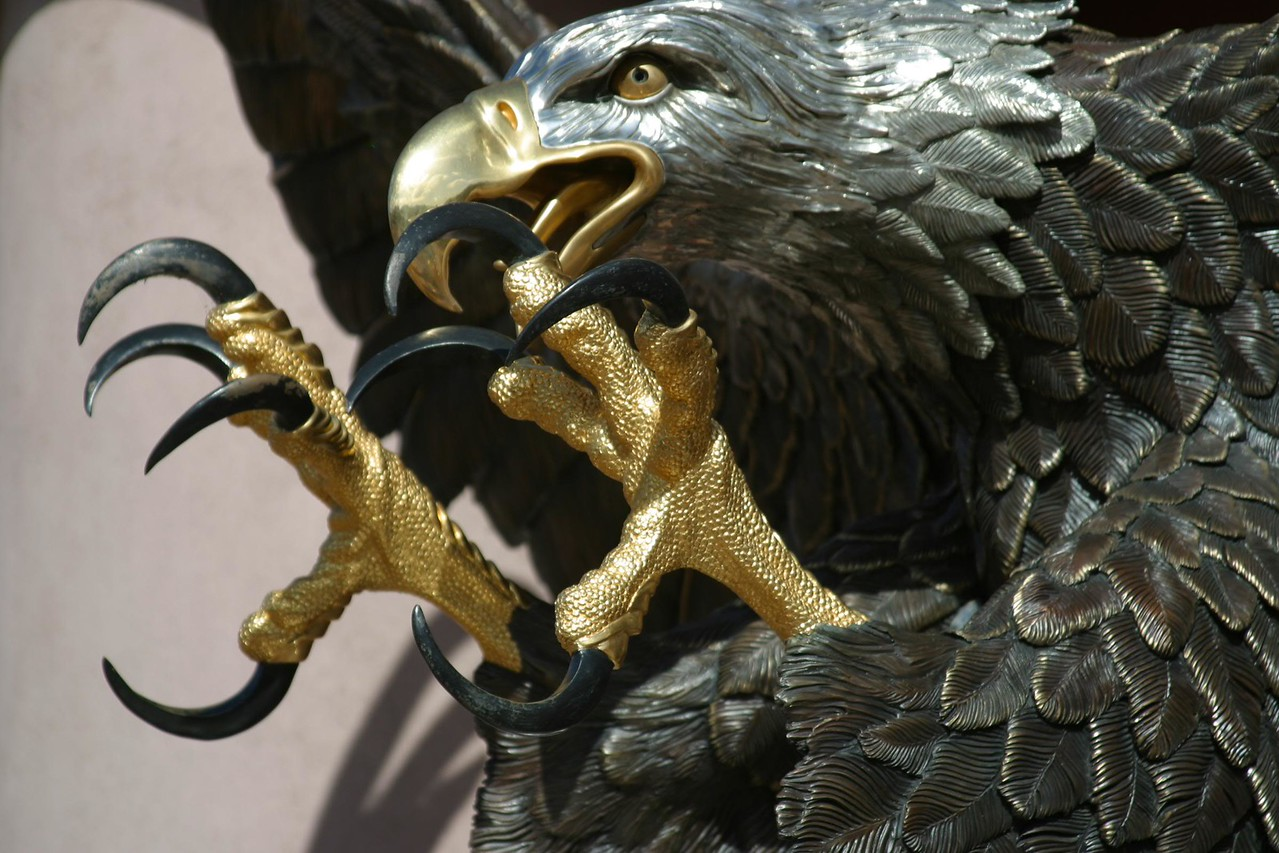 Bronze and Gold Eagle