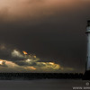 New Brighton Lighthouse, Storm