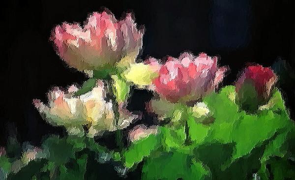 Lillies in brush strokes.jpg