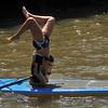Yoga  on  Paddleboard   /  Hudson River Park