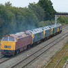 0Z50 Severn Valley Railway to Old Oak Common with 50049 leading  50007,50044,50035 and 1015