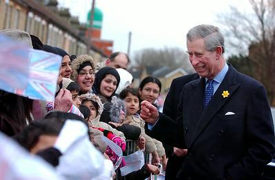 HRH Prince Charles.