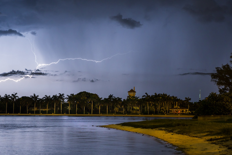 Mar-a-lago Lightning Storm