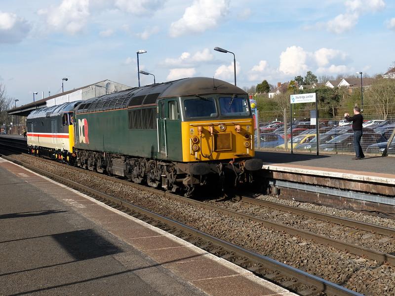 56303 at Stourbridge Junc. with 0Z50 Derby to Kidderminster SVR.