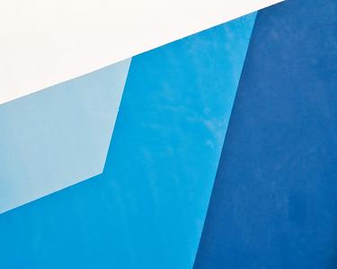 Blue Study 8435