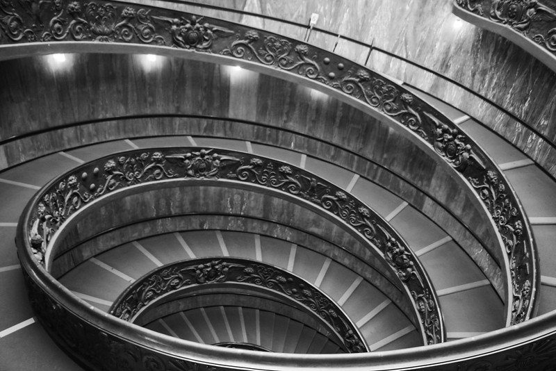 Vatican Staircase II