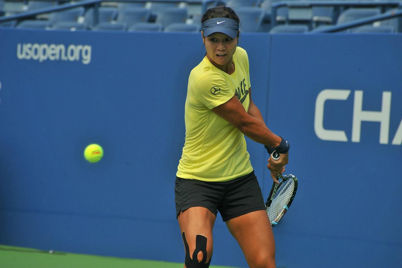 US  OPEN  TENNIS TOURNAMENT  2013    -      Li  Na
