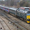 57603 with 5Z70 ECS sleepers Plymouth to Old Oak Common