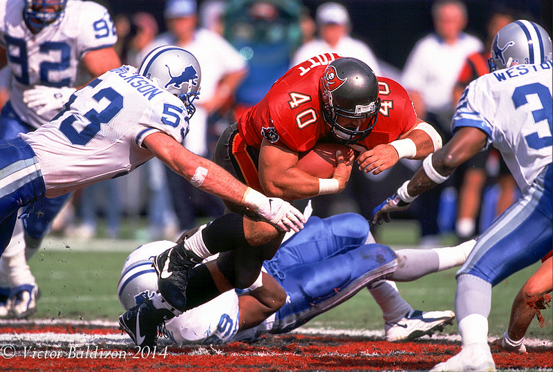 Mike Allstot Tampa Bay