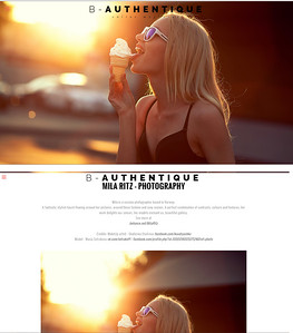 B - Authentique magazine