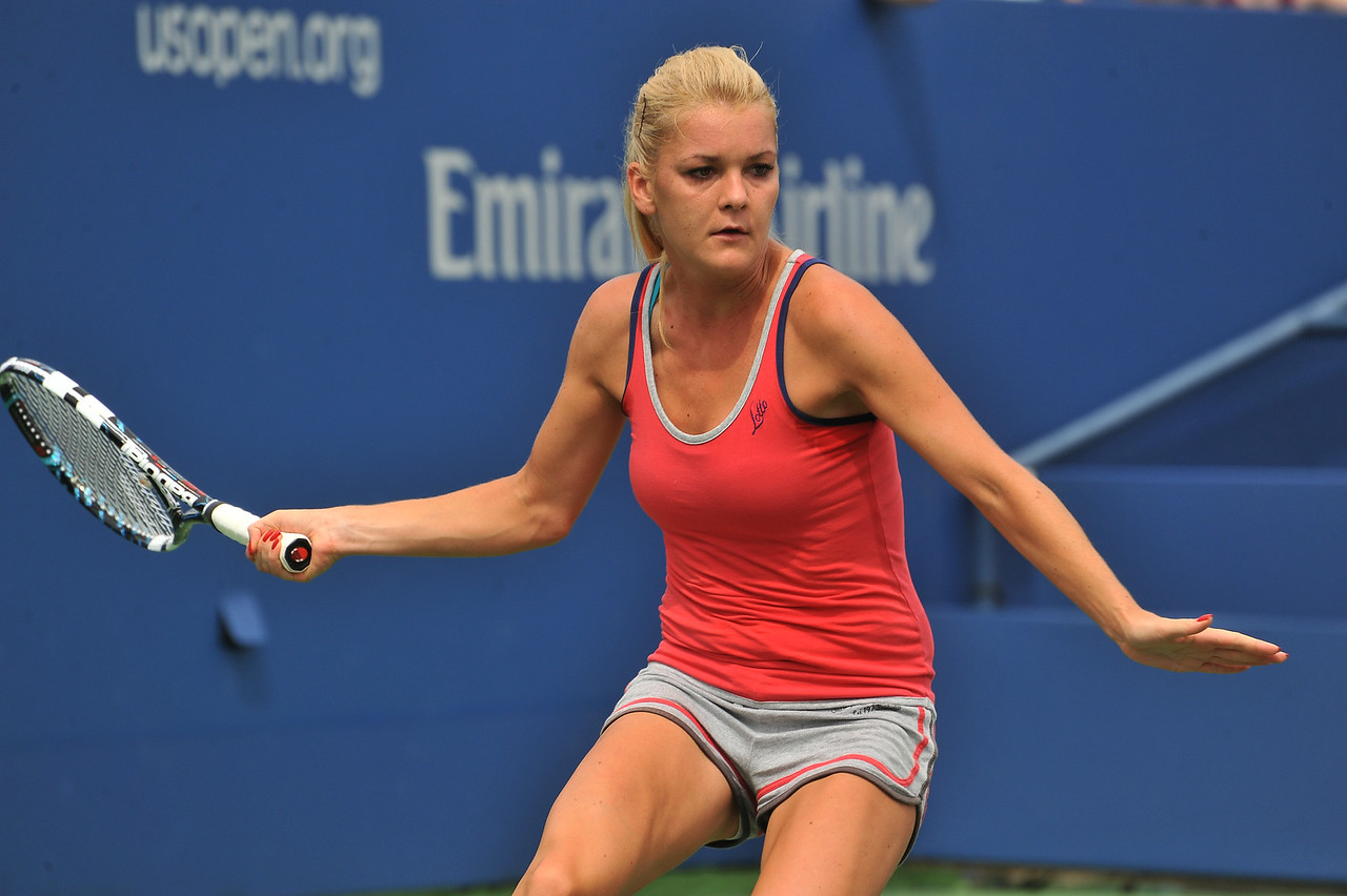 US  OPEN  TENNIS  TOURNAMENT  2013    /    Agnieska  Radwanska