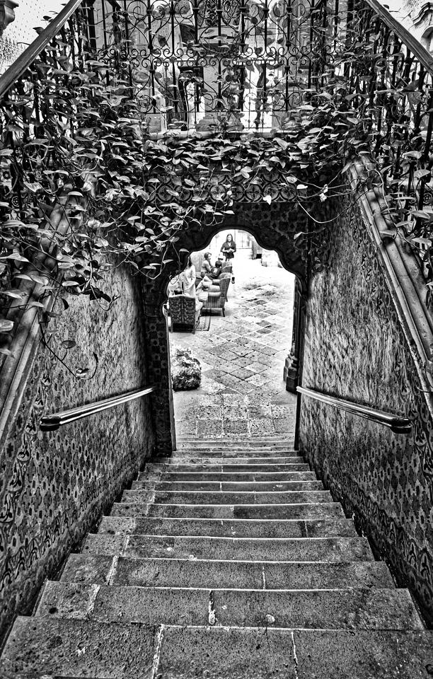 Escalera / La Casa de la Marqueza