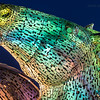 Giant 100ft Kelpies, Scotland