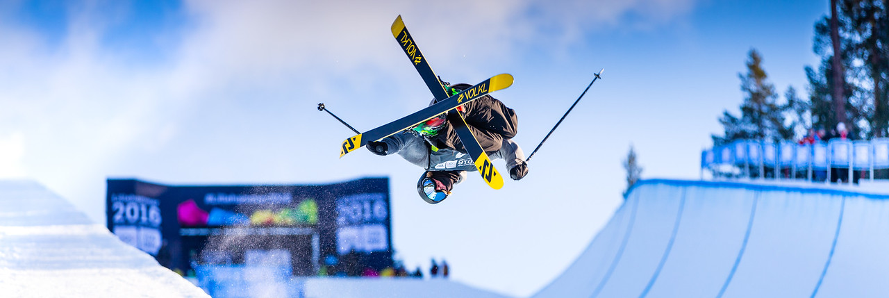 Freestyle Skiing Mens and Womens Halfpipe<br /> <br /> taken on:<br /> 2016.02.14 15:28<br /> <br /> Photo: Dag Oliver / Lillehammer 2016