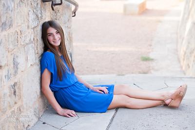 Lindsey Berkowitz Mitzvah Portrait