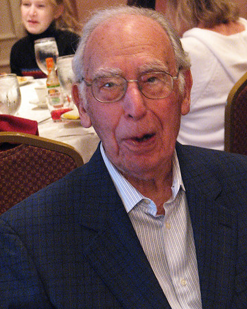 Isadore Millstone attends his own 100 th birthday, January 7, 2007